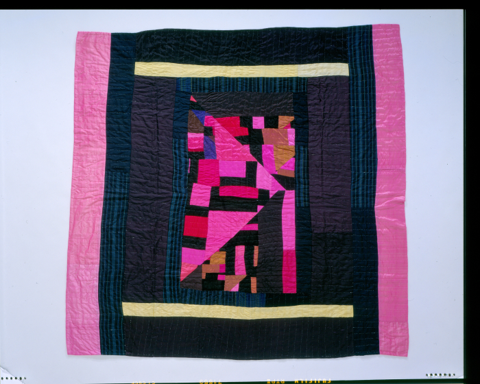 Laverne Brackens, 'Silk Medallion Quilt,' 2004, photograph by Eli Leon, courtesy National Endowment for the Arts