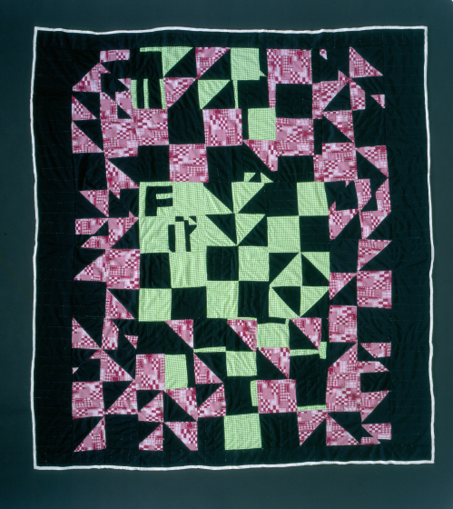 A Laverne Brackens quilt, photograph by Eli Leon, courtesy National Endowment for the Arts