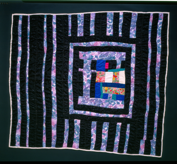 Laverne Brackens, 'Put-together Medallion Quilt,' photograph by Eli Leon, courtesy National Endowment for the Arts