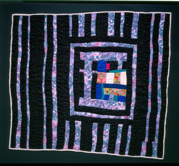 Laverne Brackens, 'Put-together Medallion Quilt,' photograph by Eli Leon, courtesy National Endowment for the Arts