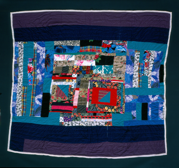 Laverne Brackens, 'Scrappy Put-together Quilt,' photograph by Eli Leon, courtesy National Endowment for the Arts