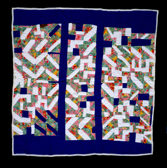 Laverne Brackens, 'String Strip Quilt,' photograph by Eli Leon, courtesy National Endowment for the Arts