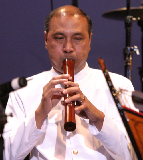 Chum Ngek, 2004 National Heritage Fellowship Concert, Washington, D.C., photograph by Michael G. Stewart, courtesy National Endowment for the Arts