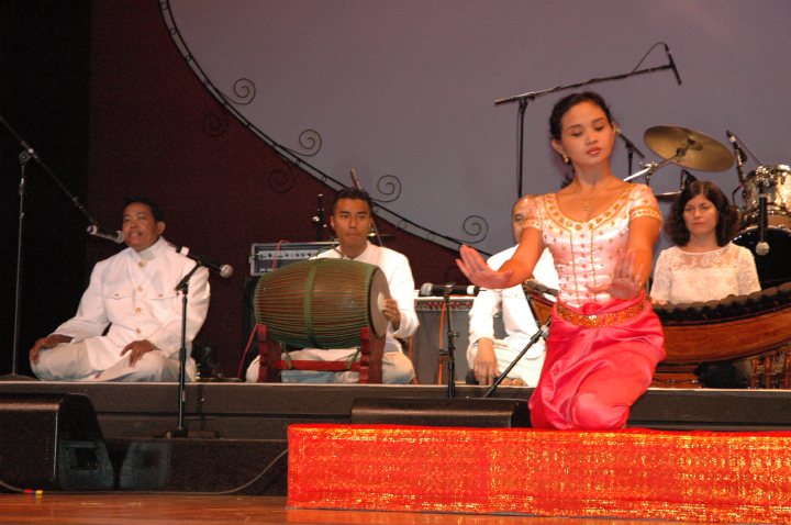 Cambodian dance directed by Chum Ngek, 2004 National Heritage Fellowship Concert, Washington, D.C., courtesy National Endowment for the Arts