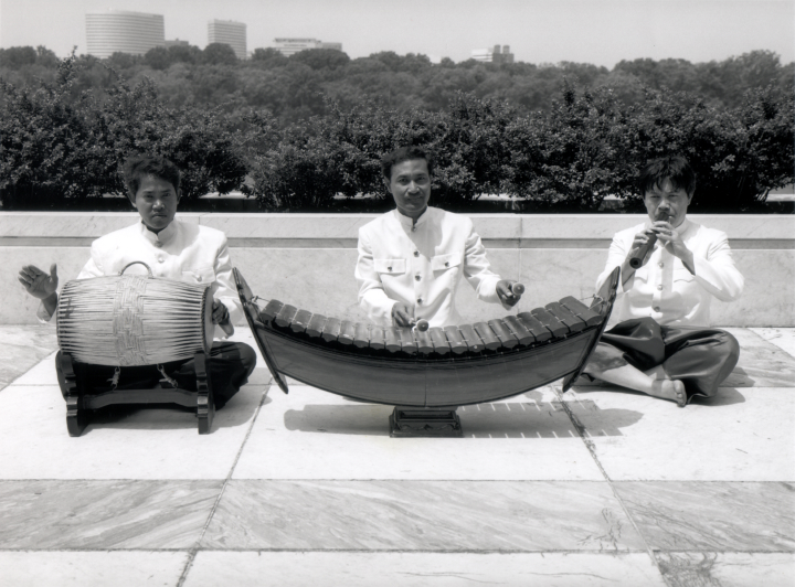 Chum Ngek ensemble, courtesy National Endowment for the Arts