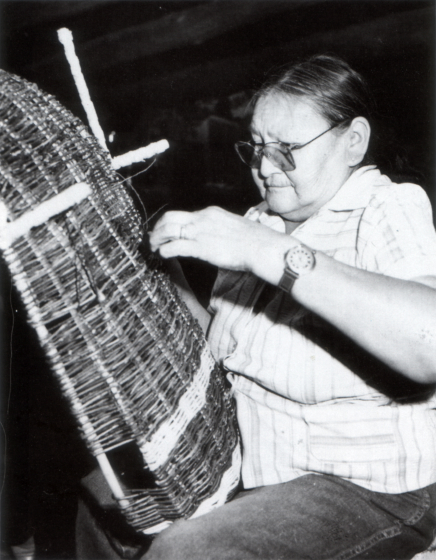 Rose Cree, photograph by Chris Martin, courtesy North Dakota Council on the Arts