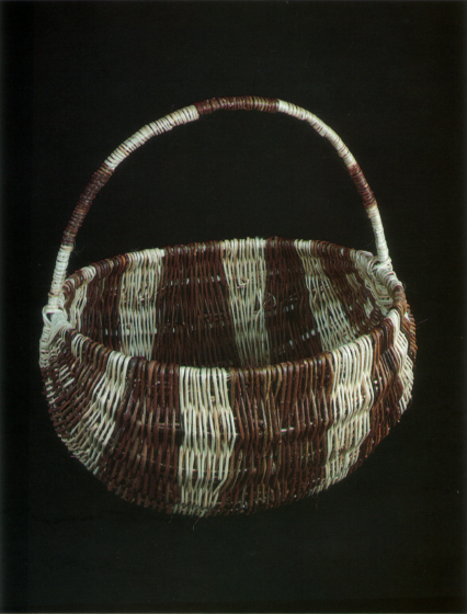 Willow basket by Rose Cree, photograph by Chris Martin, courtesy North Dakota Council on the Arts