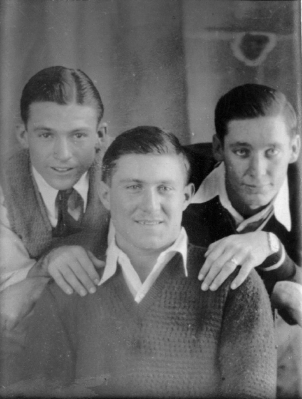 Lennis Sonnier, Edwin Duhon and Luderin Darbone, courtesy Luderin Darbone