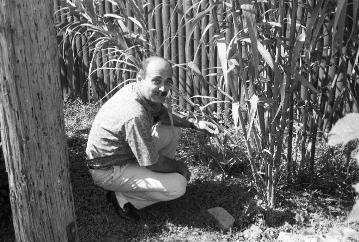 Nadim Dlaikan at work, courtesy Michigan Traditional Arts Program, Michigan State University Museum