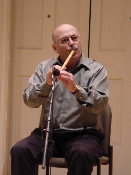 Nadim Dlaikan, Washington, D.C., photograph by Marsha MacDowell, October 20, 2004, courtesy Michigan Traditional Arts Program, Michigan State University Museum