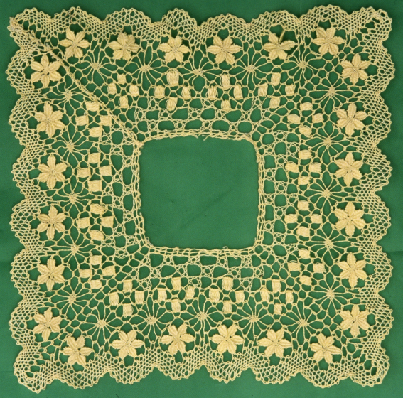 Rosa Elena Egipciaco, handkerchief (without linen center), courtesy National Endowment for the Arts