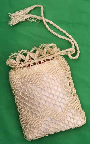 Rosa Elena Egipciaco, sachet pouch, courtesy National Endowment for the Arts