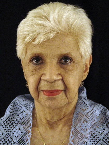 Rosa Elena Egipciaco, Arlington, Virginia, 2003, photograph by Alan Govenar