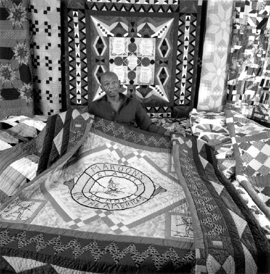 Photograph from Roland L. Freeman's *A Communion of the Spirits: African-American Quilters, Preservers, and Their Stories*, Rutledge Hill Press, Nashville, Tennessee, 1996