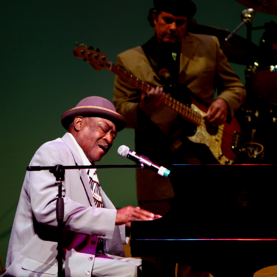 Henry Gray, 2006 National Heritage Fellowship Concert, Strathmore Music Center, Bethesda, Maryland, photograph by Michael G. Stewart