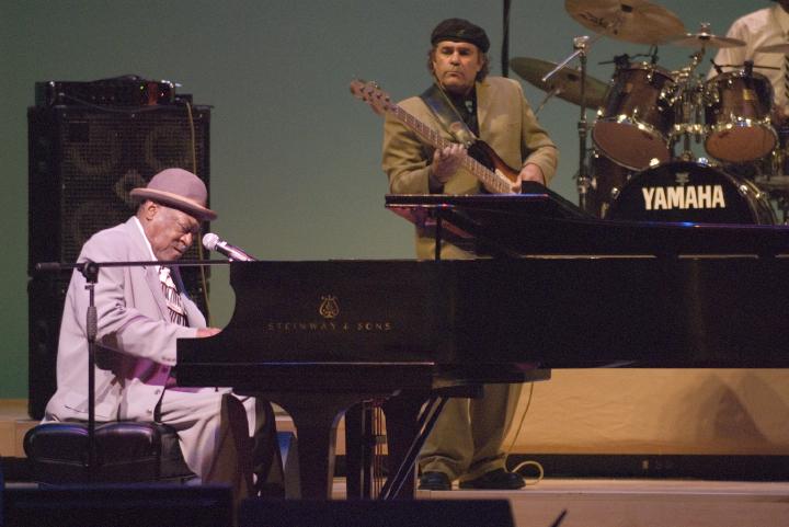 Henry Gray, 2006 National Heritage Fellowship Concert, Strathmore Music Center, Bethesda, Maryland, photograph by Alan Hatchett
