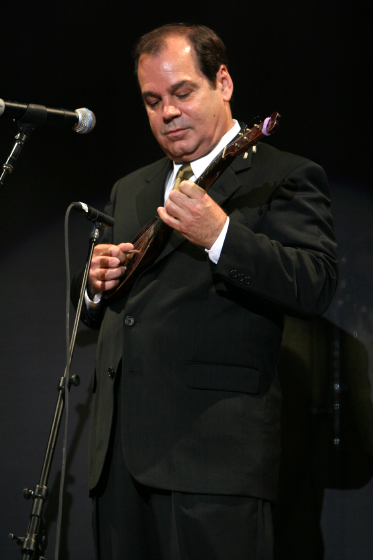 Jerry Grcevich, 2005 National Heritage Fellowship Concert, Washington, D.C., photograph by Michael G. Stewart, courtesy National Endowment for the Arts