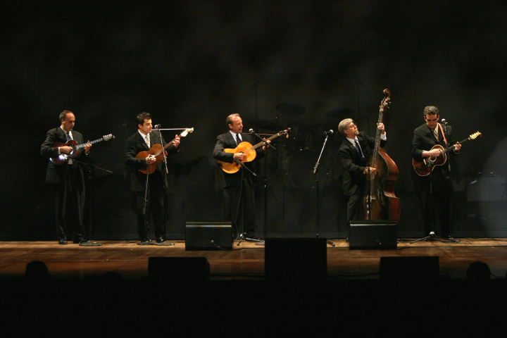 Jerry Grcevich's band, 2005 National Heritage Fellowship Concert, Washington, D.C., photograph by Michael G. Stewart, courtesy National Endowment for the Arts