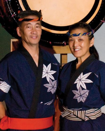 Roy and PJ Hirabayashi, photograph by Mel Higashi