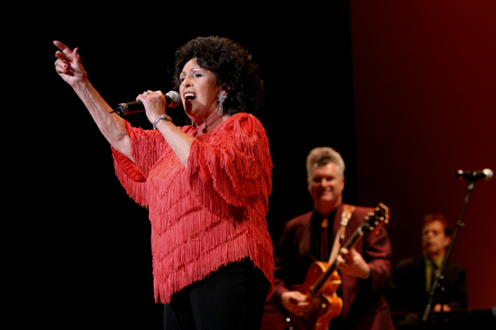Wanda Jackson, 2005 National Heritage Fellowship Concert, Washington, D.C., photograph by Michael G. Stewart, courtesy National Endowment for the Arts