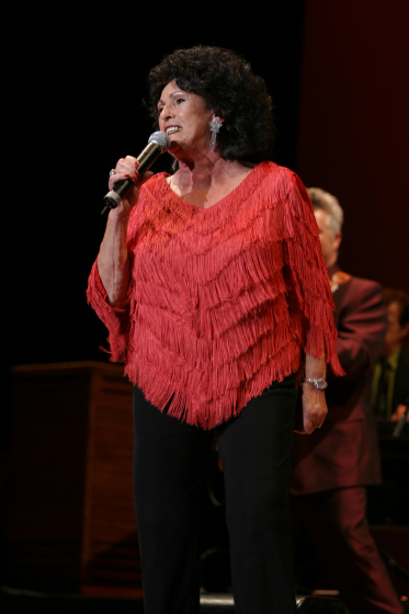 Wanda Jackson, 2005 National Heritage Fellowship Concert, Washington, D.C. photograph by Michael G. Stewart, courtesy National Endowment for the Arts