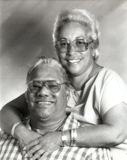 Raymond and Elodia Kane, photograph by David Au, courtesy Raymond Kane
