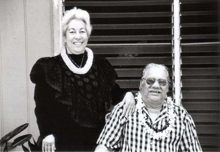 Elodia and Raymond Kane, 1998, courtesy Raymond Kane