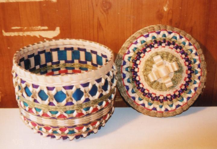Basket by Clara Neptune Keezer, courtesy Clara Neptune Keezer