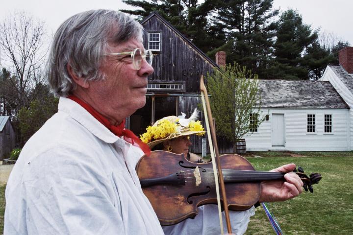 Dudley Laufman, photograph by Lynn Martin Graton, courtesy Dudley Laufman