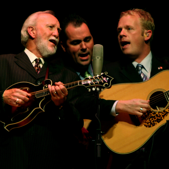 Doyle Lawson, 2006 National Heritage Fellowship Concert, Strathmore Music Center, Bethesda, Maryland, photograph by Alan Hatchett