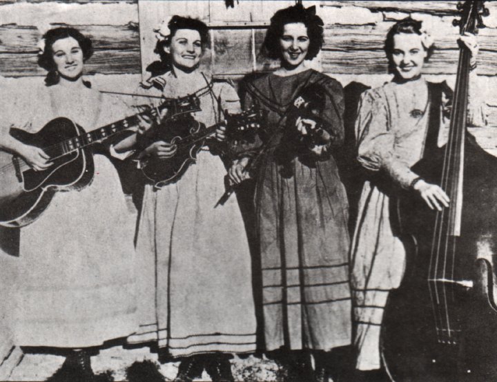 The Coon Creek Girls, Courtesy Berea College Appalachian Center