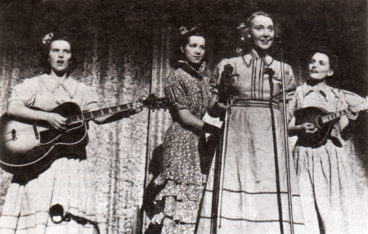 Lily May Ledford (second from left), courtesy Berea College Appalachian Center