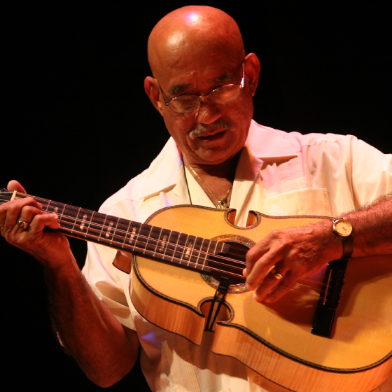 Diomedes Matos, 2006 National Heritage Fellowship Concert, Strathmore Music Center, Bethesda, Maryland, photograph by Michael G. Stewart