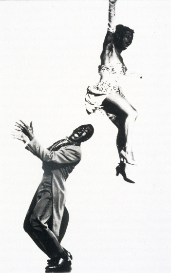 Billy Ricker and Norma Miller dancing at the Roxy Theater, 1952, courtesy Norma Miller