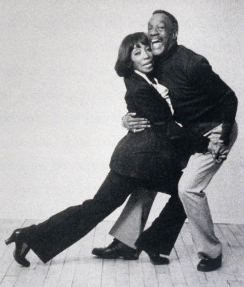 Norma Miller and Billy Ricker dancing at the Village Gate, New York, 1984, courtesy Norma Miller
