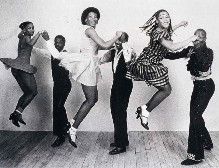 New Jazz Dancers from left): Amaniyea Payne and Clyde Wilder, Debbie Williams and Chazz Young, and Darlene Gist and Stoney Martini, courtesy Norma Miler
