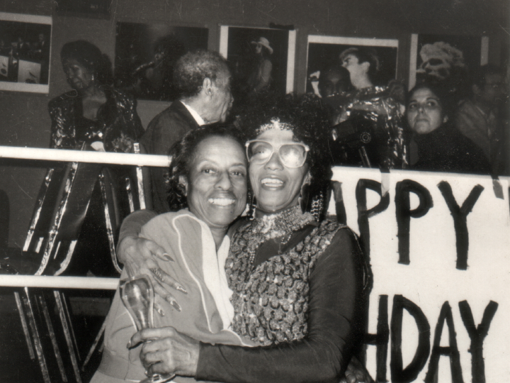 Dorothy Miller (left) and Norma Miller, courtesy Norma Miller