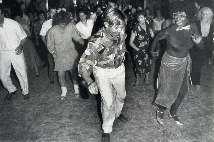 Jonathan Bixby and Norma Miller at the 1990 Boogie in the Berkshires dance camp, courtesy Norma Miller