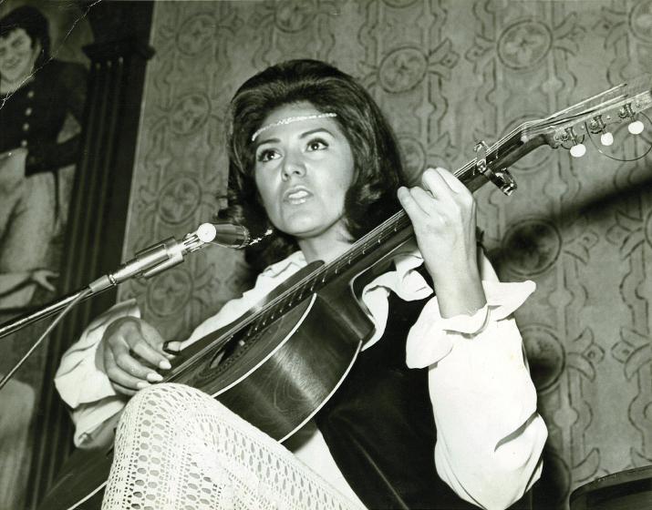 Carmencristina Moreno, Riviera Las Vegas, 1970, courtesy Carmencristina Moreno