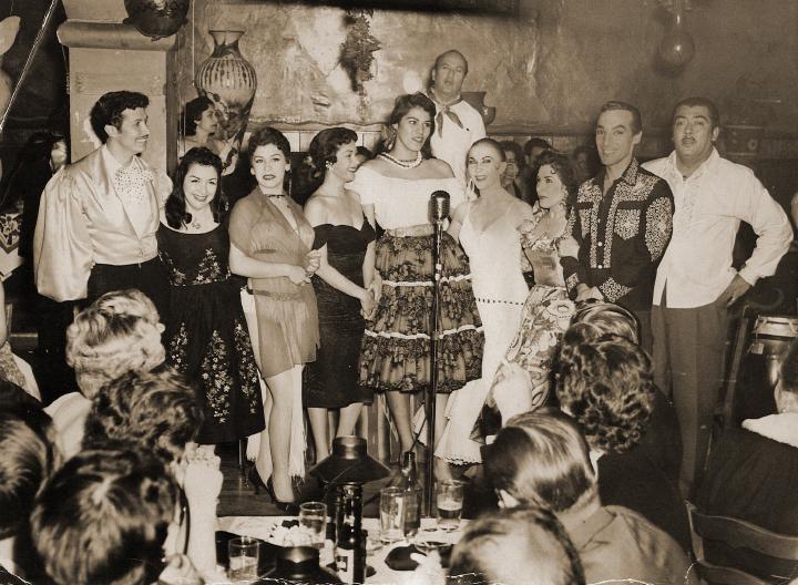 Carmencristina Moreno, Sinaloa Club, San Francisco, ca. 1959-60, courtesy Carmencristina Moreno
