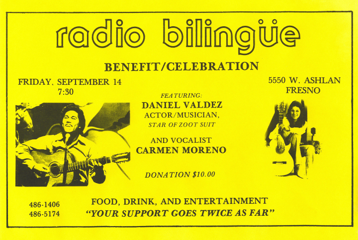 Carmencristina Moreno, flyer, Courtesy Carmencristina Moreno