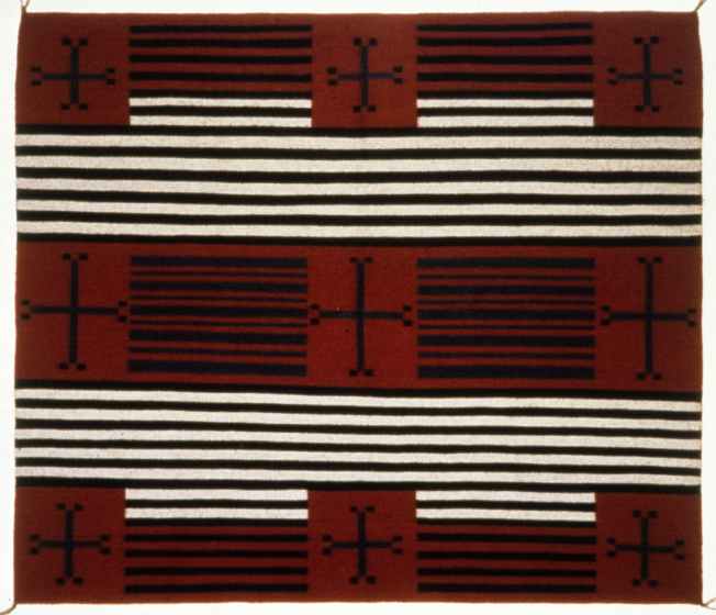 Weaving by Grace Henderson Nez, courtesy National Endowment for the Arts