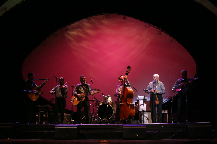 Milan Opacich (right), 2004 National Heritage Fellowship Concert, photograph by Michael G. Stewart, courtesy National Endowment of the Arts