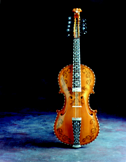 Hardanger fiddle by Ron Poast, photograph by Jim Wildeman, courtesy National Endowment for the Arts