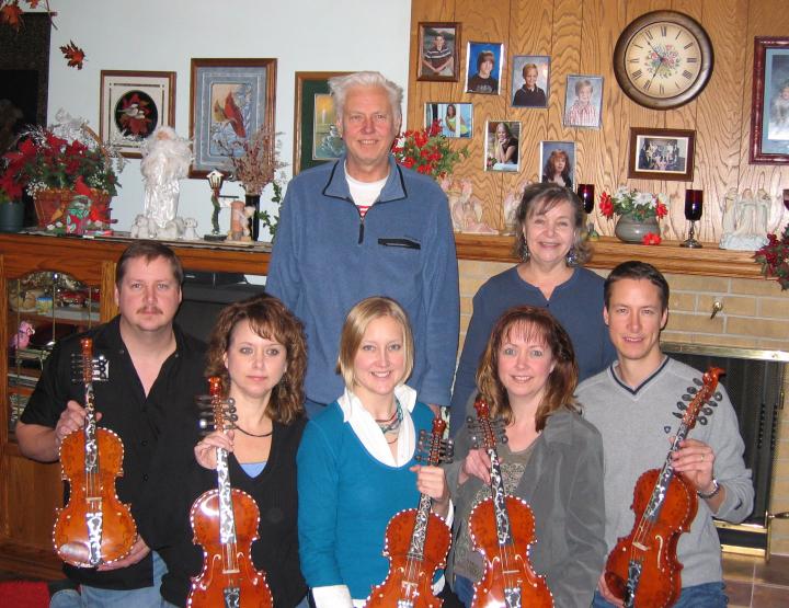 The Poast family, courtesy Ron Poast