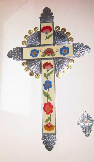 Cross by Senaida Romero, courtesy Marie Cash