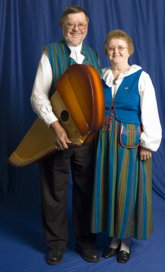 Wilho Saari and his wife, Kaisa Saari, Bethesda, Maryland, 2006, photograph by Alan Govenar