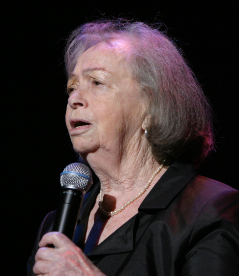 Beyle Schaechter-Gottesman, 2005 National Heritage Fellowship Concert, Washington, D.C., photograph by Michael G. Stewart, courtesy National Endowment for the Arts