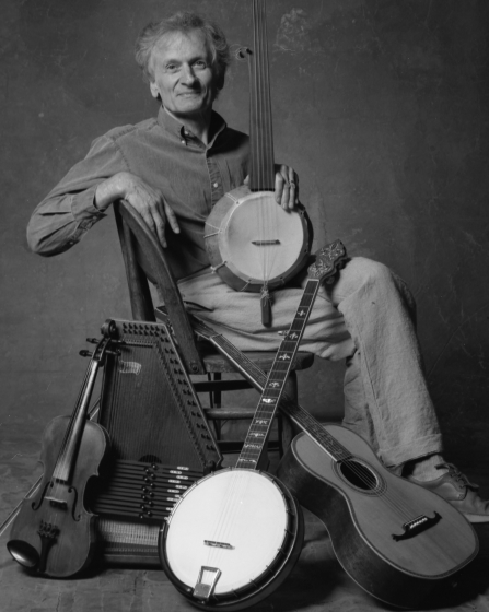 Mike Seeger, photograph by Jim McGuire, courtesy National Endowment for the Arts
