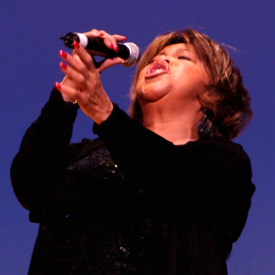 Mavis Staples, 2006 National Heritage Fellowship Concert, Strathmore Music Center, Bethesda, Maryland, Photograph by Michael G. Stewart